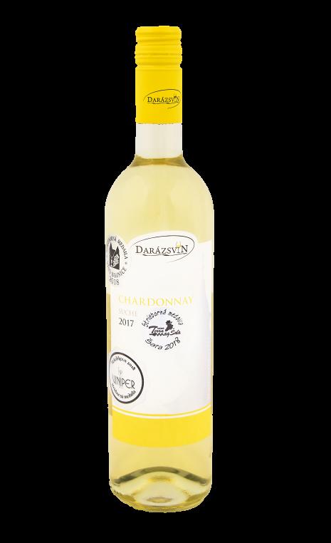 Chardonnay biele suché víno vinárstvo Darázsvin