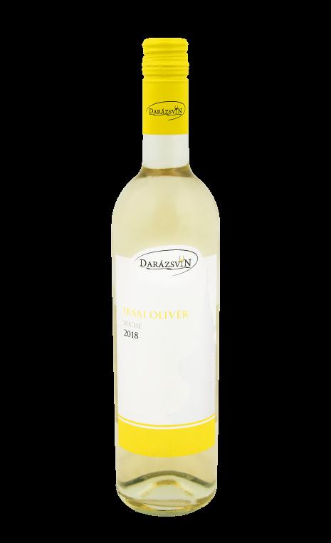 Irsai Olivér biele suché víno 2018 vinárstvo Darázsvin