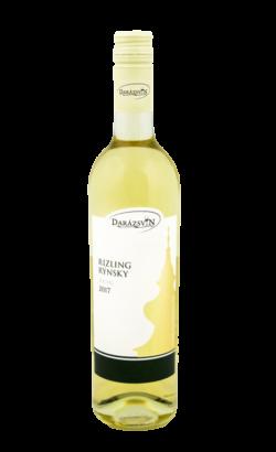 Rizling rýnsky biele suché víno 2017 vinárstvo Darázsvin