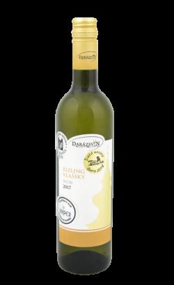 Rizling vlašský biele suché víno 2017 vinárstvo Darázsvin