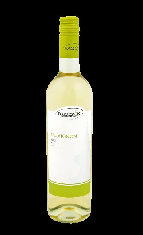 Sauvignon biele suché víno 2018 vinárstvo Darázsvin