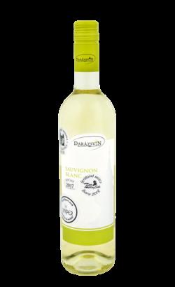 Sauvignon blanc suché biele víno 2017 vinárstvo Darázsvin