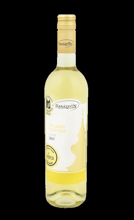 Tramín červený biele suché víno 2017 vinárstvo Darázsvin