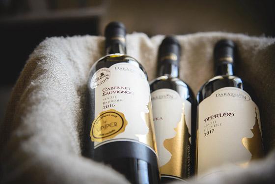 Červené vína Darázsvin výber