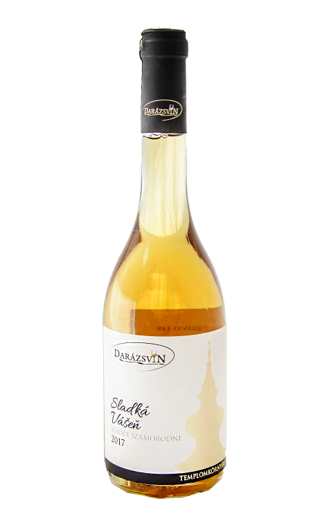 Sladká vášeň biele akostné víno 2018 Darázsvin
