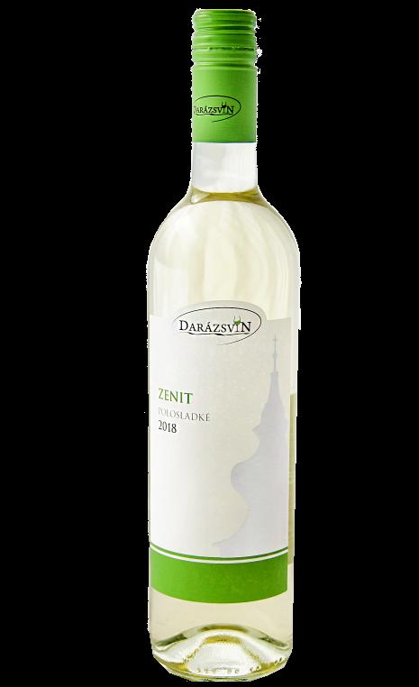 Zenit biele polosladké víno 2018 Darázsvin