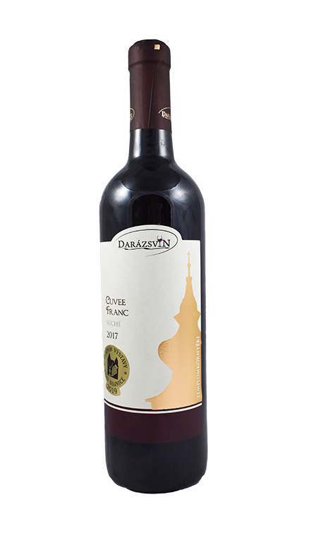 cuvee franc cervene vino 2017 darázsvin