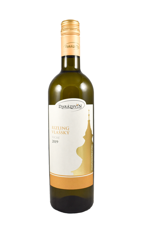 rizling vlašský biele suché víno 2019 darázsvin